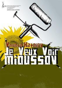 """Affiche de la pièce """"Je veux voir Mioussov"""" par SCRIBE-Paris"""