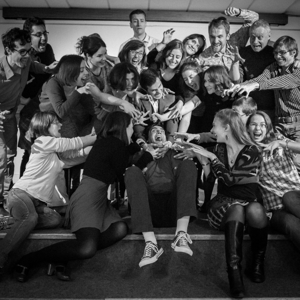 Photo de groupe SCRIBE-Paris, promotion 2015-2016