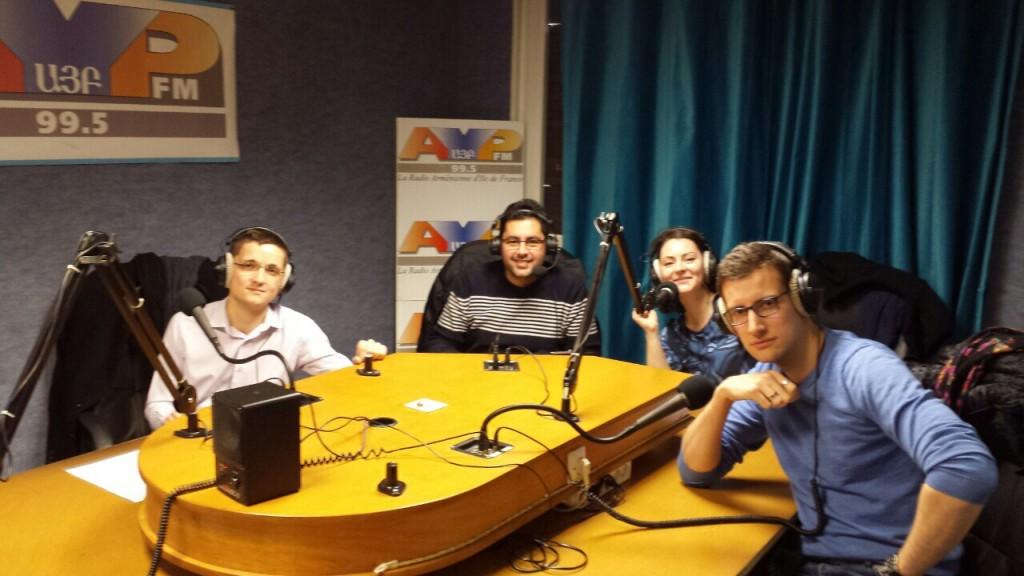 SCRIBE-Paris à l'antenne dans l'émission La Parenthèse de Copéa