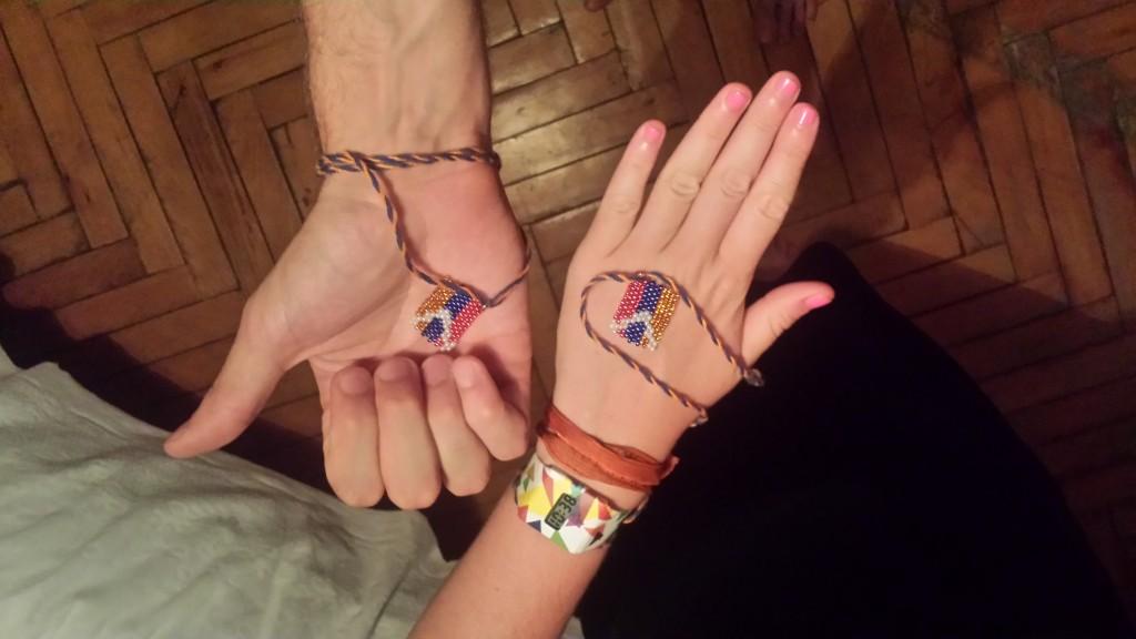 Les bracelets aux couleurs du Haut-Karabagh