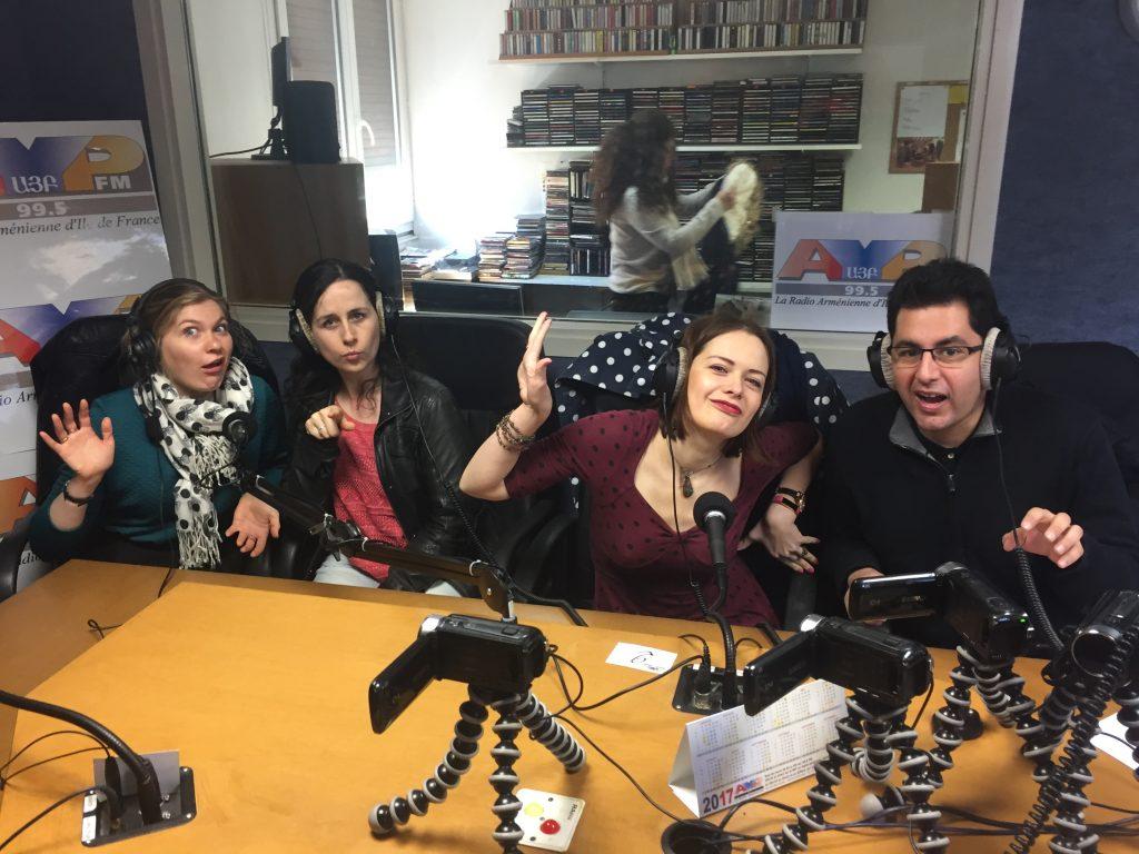 SCRIBE-Pairs sur AYP FM
